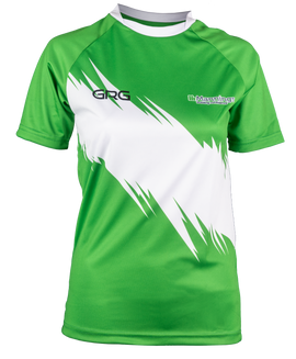 Training Jersey - Style 4 - Green White.