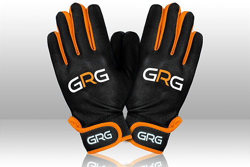 GRG Gaelic Gloves - Black/Orange