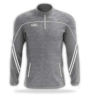 Grey Melange - Grey Melange - White trim