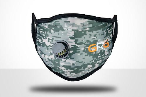GRG Camo Vented Reusable Mask