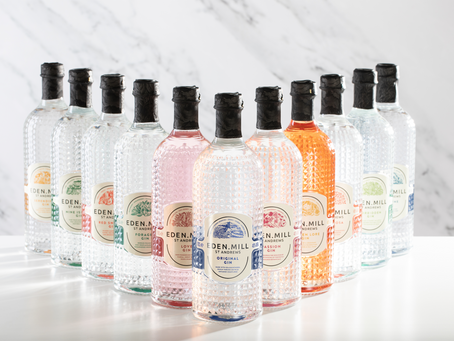 Eden Mill launch new premium gins and make sustainable swap
