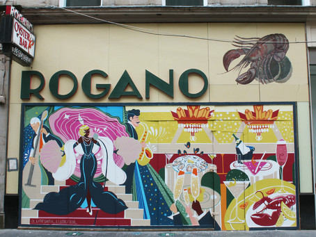 Rogano unveil final mural as part of charity project