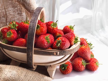Free Strawberries for Wimbledon finals weekend