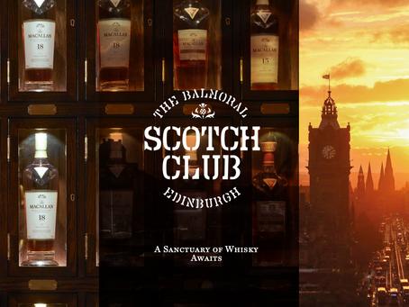 Luxury Edinburgh hotel launches new Scotch Club