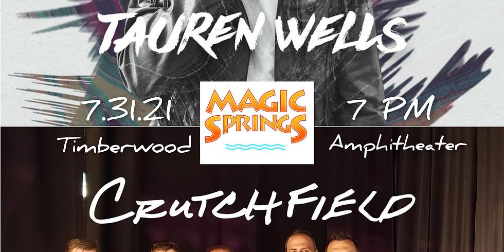 Tauren Wells with Crutchfield Concert