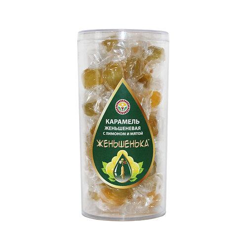 Полезная карамель с лимоном и мятой, 100 гр