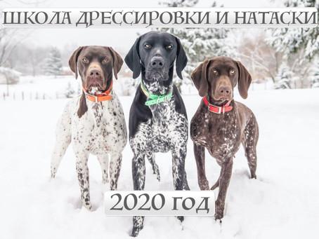 Запись в ШКОЛУ ДРЕССИРОВКИ И НАТАСКИ на 2020 год!
