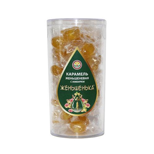 Полезная карамель с имбирём, 100 гр