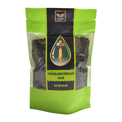 Чай женьшеневый зеленый китайский, 100 гр.