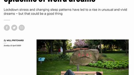 Coronavirus has created an epidemic of weird dreams