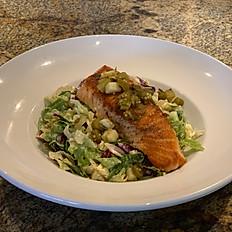 Coco's Salmon Chop Salad