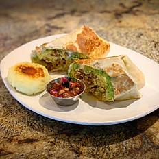 LDR Beef Breakfast Burrito