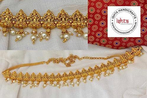 Lakshmi Waist Belt with Adjustable Chain