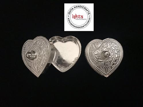 Heart Shape Haldi Kumkum Box