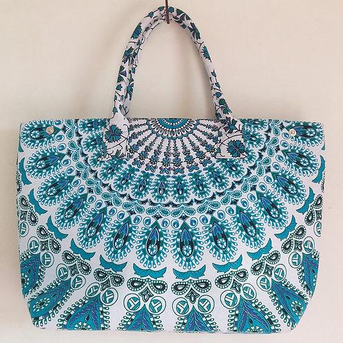 Harmony Green Cheap Mandala Tote Bag Women Bag