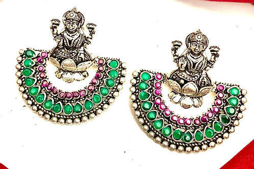 Lakshmi German Silver Chandbalis