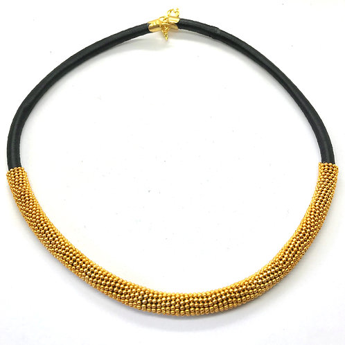 Silk Thread Pipe Necklace