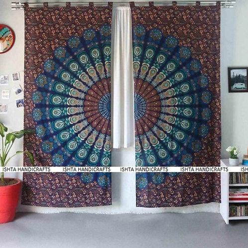 Enlightened Soul - Vishnu Mandala Curtains