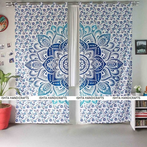 Dance of Hope - Sakra Mandala Curtain