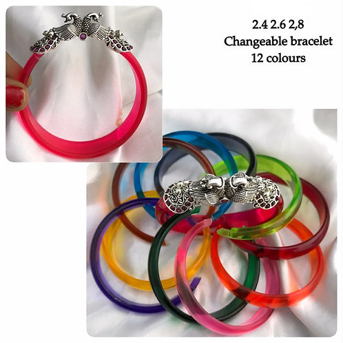 German Silver Changeable Bracelet