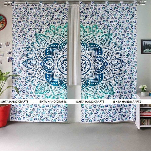 Dance of Hope - Mayura Mandala Curtain