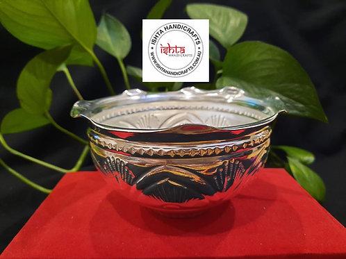 German Silver Prasad Bowl