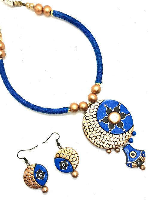 Terracotta Thread Set - Blue