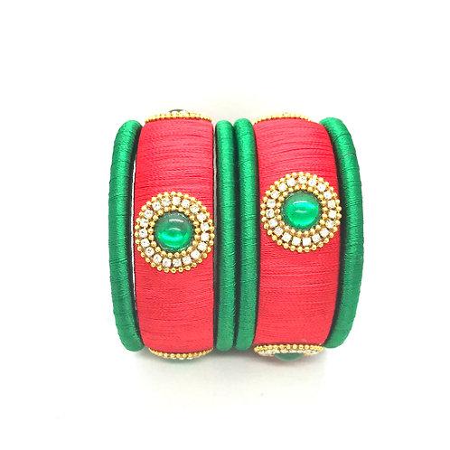Bangles Set - Red & Green