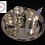 Thumbnail: German Silver Pooja Set