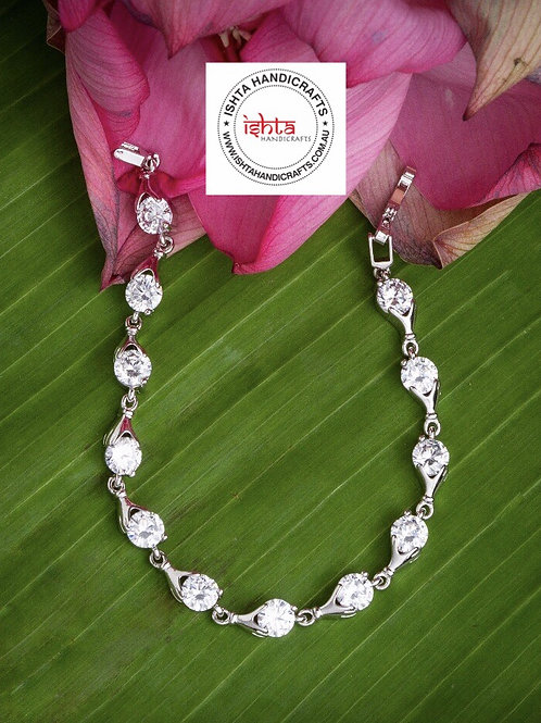 American Diamond Stones Bracelet
