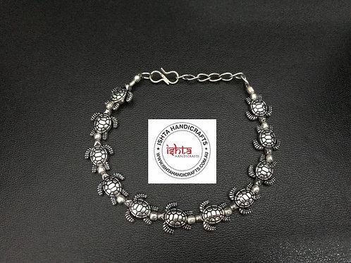 German Silver Turtle Bracelet