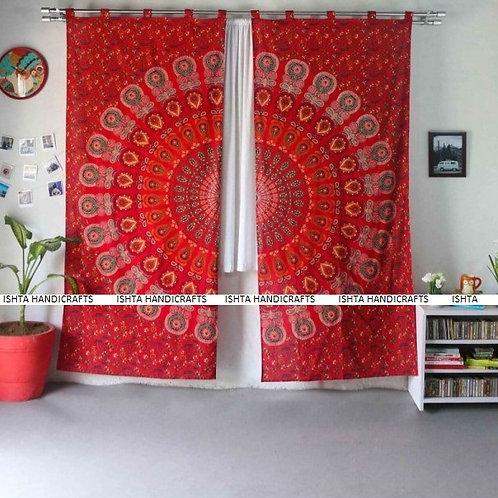 Enlightened Soul - Brahma Mandala Curtains