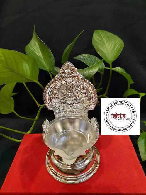 Kamakshi Lamp with Elephants