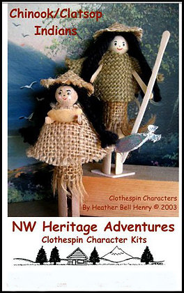 Chinook/Clatsop Indians Kit
