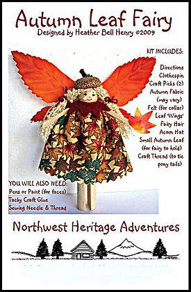 Autumn Leaf Fairy Kit