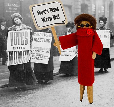 "Nancy Pelosi ""Don't Mess With Me"" Digital Download Doll Pattern"