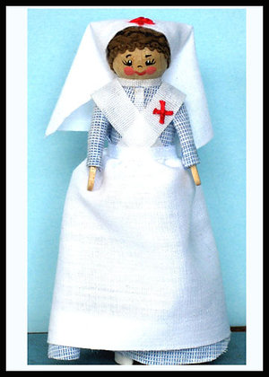 Victorian Nurse Doll