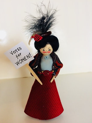 Votes for Women Doll