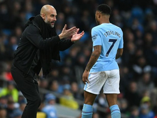 Sterling: Guardiola killed me after Crystal Palace draw