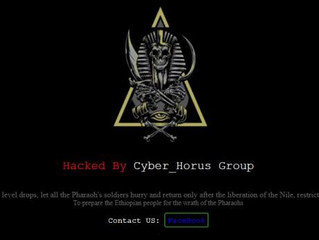 An Egyptian cyber attack on Ethiopia by hackers is the latest strike over the Grand Dam