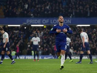 Chelsea advance to League Cup final past Tottenham on penalty kicks