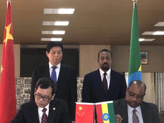 Leaders of Ethiopia, China witness signing of water supply agreement