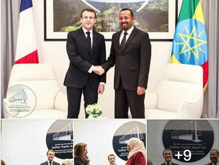 Macron in East Africa: Historic Lalibela trip, deals signed in Addis Ababa