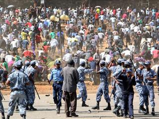 Ethnic clashes reported near Ethiopian capital