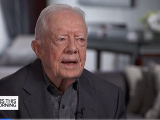 Jimmy Carter Calls Trump's Hiring Of John Bolton His 'Worst Mistake' Yet