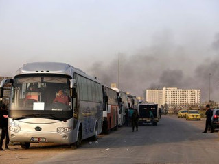 Thousands more leave enclave in Syria's Ghouta as Assad takes back control