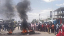 PROTESTS IN DEGEHABUR AFTER THE SHOOTING DEATH OF A YOUNG MAN BY POLICE; SOMALI REGION CHIEF SECURIT