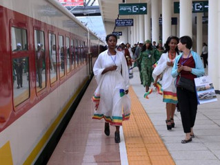Letter from Africa: 'I gave up on catching the train in Ethiopia'