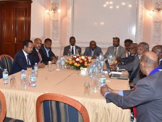 ETHIOPIA BEGINS PEACE TALKS WITH ONLF