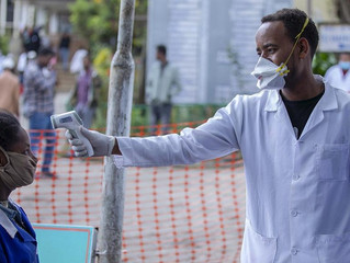 Ethiopia coronavirus: field hospital on Addis outskirts nears completion